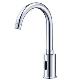 Sensor inteligente Grifo de cobre Faucets infrarrojos automáticos Agua Automática Cuarto de baño Cuarto de baño Se han instalado lavadoras de mano en venta