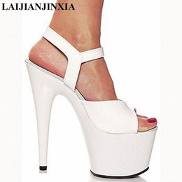 Femmes Cuir Talon Haut Massif Loisirs Chaussures Plateforme Bout Rond Nightclub Pompes