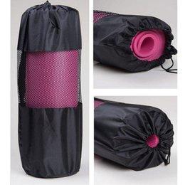 Alta Qualidade 6mm Non-Slip Yoga Bag Popular Yoga Pilates Pilates Mat Capa Saco Ginásio Fitness Exercício Exercício Trabalho Gym Exercício 742 Z2 em Promoção