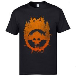 mad men t shirts Australia - Furry Road Mad Max Skull T-Shirt Short Sleeve Unique Plain Men Fall Tops Shirts Popluar Design Europe Tees 100% Cotton Fabric [<maotq29@163.