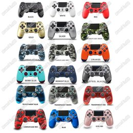 22 Colors PS4 Controller PS Vibration Joystick Gamepad Wireless Game Controller for Sony Play Station With Retail package box EU and US on Sale