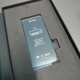 Опт Оригинальные сотовые телефонные батареи не копируют 100% емкости нулевой цикл Встроенная внутренняя литий-ионная сменная аккумулятор для iPhone 6 7 7P 8G 8P X