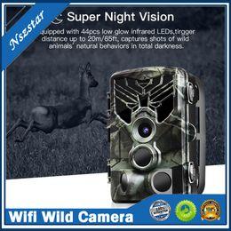 Venta al por mayor de PR300 WIFI 24MP HD Trail Cámara de la caza 5 millones de cámaras de campo Versión salvaje Versión de la noche Scouting Scouting Traps + Control remoto