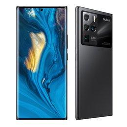 Original Nubia Z30 Pro 5G Mobile Phone 12GB RAM 256GB ROM Snapdragon 888 Octa Core Android 6.67 inch AMOLED Full Screen Fingerprint ID 64.0MP NFC 4200mAh Smart Cellphone on Sale
