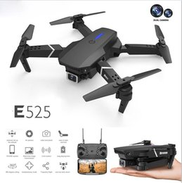 Intelligent UAV-flygplan LS-E525 Drone 4K HD Dual-lins fjärrkontroll Electric Mini Drones WiFi 1080p Real-Time Transmission Foldbara RC Quadcopter Leksaker