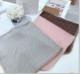 Wholesale NewBorn Baby Knitting Blanket Boy Soft 100% Cotton Kids Girls Infant Winter Blanket Tops 100x100cm
