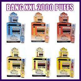 Bang XXL Disposable XXtra Vapes Pen 5% 2% nic Device kit 800mAh Batterys 6ml Pods Vapors 2000 Puffs VS LOY XL 0268170-2 on Sale