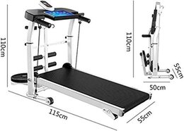 EU stock professional 4 in 1 multifunctional quiet walking Machine treadmill