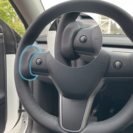 For Tesla Model3 Y S X accessories Counterweight Ring Autopilot FSD Automatic Assisted Driving AP Steering Wheel weight Booster