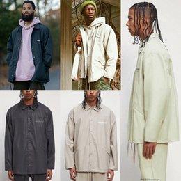 double Men's Jackets track fog coach jacket windbreaker casual coat factory outlet 2021 Mens Fear of God clothes essentials Season 071 N6AD#