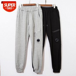 European and American fashion brand CP pant, pocket zipper lens decoration terry fabric casual pants men #Dr4T