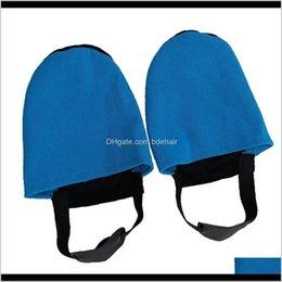 Venta al por mayor de Juegos de ocio Deportes al aire libre Drop Entrega 2021 1 par de zapatos de bolos Slider Protector Reemplazo Funcional Lavable - Azul Jx8ld