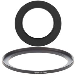 lens adapter rings UK - 2Pcs Camera Parts Lens Filter Step Up Ring Adapter Black - 72Mm To 82Mm & 58Mm Adapters Mounts