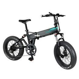 [Stok] FIIDO M1 Pro Elektrikli Bisiklet Akıllı Scooter 20 inç Yağ Lastik 12.8Ah 48 V 500 W Katlanır Moped Bisiklet 50 KM / H Üst Hız 130km Kilometre Aralığı