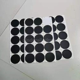 Круглая черная резиновая кастрюля накладки самоклеющиеся чашки на наклейки для 15 унций 20 унций 30oz Tumblers защитные нескользящие колодки CY18 на Распродаже
