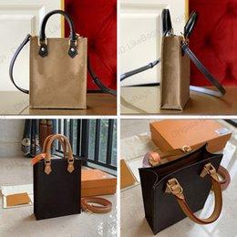Designer Womens Handtaschen Geldbörsen Petit Sac plat Luxus Messenger Bags mit Kasten Echtes Leder Alte Blume Pochettes Mode Crossbody Mini Schultertelefon Einkaufstasche im Angebot
