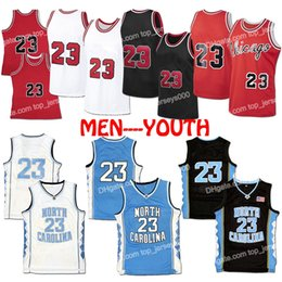 Ship From US Chicago MJ Basketball Jersey Men Youth Kids Jerseys Stitched Red White Blue Black Top Quality Fast Delivery