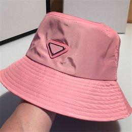 Alta Qualidade Bucket Hat Chapéu Designer para Homens Mulher Caps Beanie Casquettes Fisherman Buckets Chapéus Patchwork Moda Verão Sol Viseira 001 em Promoção