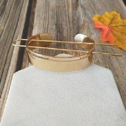 Ingrosso Design top top top hairspin clip clip bun gabbia minimalista vintage capelli bastone forcella ragazza accessori per capelli donne gioielli da sposa Natale 206 N2