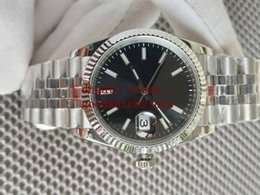 box Automatic GM Ladies Women's 36mm Wristwatches black Dial 0mm Cal.3235 ETA Movement Mechanical Men's Wristwatch Watch 904L Steel jubilee bracelet on Sale