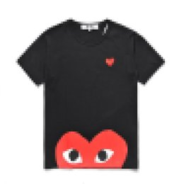 new best t shirt 2021 - COM wholesale Best Quality Black A New Hot HOLIDAY PLAY cdg T-shirt White Red Size L prompt decision