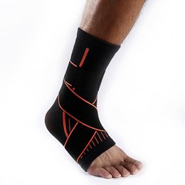 Wholesale sport karate resale online - Martial Arts Karate Basketball Football Ankle Foot Protection Winding Pressure Bandage Outdoor Sports Support
