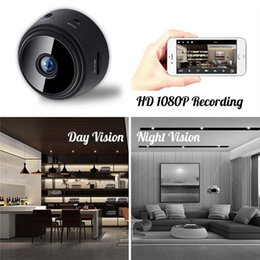 small surveillance cameras NZ - 2021 A9 camcorder 1080P Full HD Mini Spy Video Cam WIFI IP Wireless Security Hidden Cameras Indoor Home surveillance Night Vision Small Camcorders
