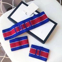Wholesale Top Design Headband Wristband Three Piece Set New Fashion Couple Headband High Quality Jewelry Supply
