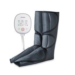 Опт Массажер для ног для циркуляционного ноги и теленка массажер воздушного сжатия ногой и бедра обертывания массажные сапоги машины