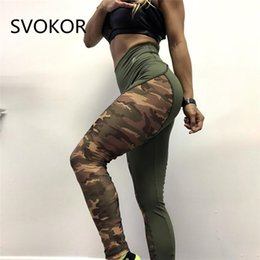 Wholesale working out leggings for sale - Group buy Sexy Mesh Leggings Women For Fitness Polyester High Waist Camouflage Jeggings Fold Push Up Work Out Girl Legging