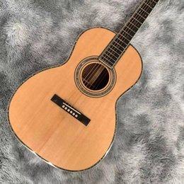 2021 mold full KOA wood 40 inch black finger acoustic guitar free of freight.