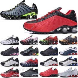 2020 NEW R4 TL TN OZ Casual shoes men athletic Triple Black white Metallic Silver outdoor men trainers sneakers chaussures 40-46 FG6P