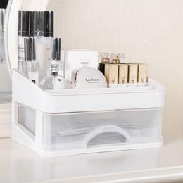 layer drawer box UK - Bathroom Makeup Organizer Women Cosmetics Storage Box Desktop Drawer Multi-layer Jewelry Lipstick Container Accessories Supplies Boxes & Bin1