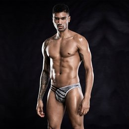 Wholesale Men's Appealing Underwear Bar Nightclub Wild sexy Temptation Briefs European and American Adult Shorts