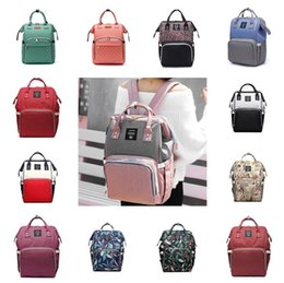 Nappies Diaper Bags Nursing Mommy Maternity Backpacks Brand Designer Handbags Fashion Mother Backpack Outdoor Travel handbag Organizer 56 styles WY1298 on Sale