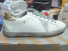 2021 Italian casual shoes G33MS590sneakers super star sequins classic white distressed dirty shoe's designer men's and women's casual&# shoes&# original box 2.4 on Sale