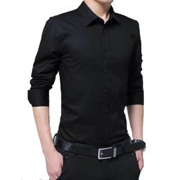 Wholesale pink stitch shirt resale online - Men s Dress Shirs Selling Business Pink Shirt