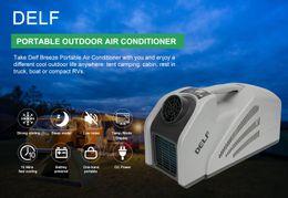 Auto Mobiele Tent Outdoor Draagbare Caravan Truck Kleine Conditioner Compressoren Airconditioning System AdaptersRefrigeration