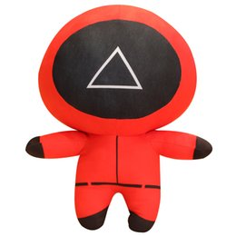 TV Squid Game Plush Toys Doll Keychain Pillow Pendant Valentine Day Christmas Gifts For Children Various Sizes And Good Quality