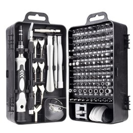 Professional Hand Tool Sets 135pcs set Screwdriver Bit Set 135-in-1 Wrench Socket Kit Portable Phone Watch Repair Tools Laptop on Sale