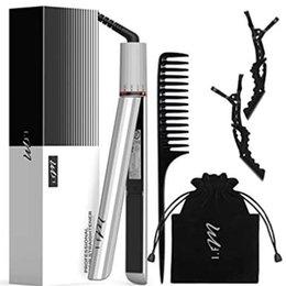 Опт 2-в-1 выпрямитель для волос плоский желчный ключ для всех прически 15s быстрый нагревательный память девочки женщины подарок с высоким качеством белый
