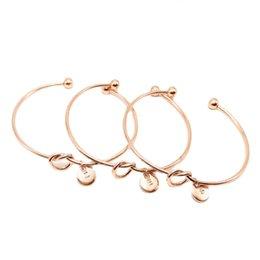 U-Z Luxury designer jewelry bracelets stainless steel Alloy Simple 26 letters friend bracelet men fashion bangle women wholesale