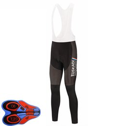 Wholesale Euskadi Team Cycling Bib Pants Men's Bike Long Bibs Trousers Cool With 9D Gel Pad Breathable Quick Dry Bicycle Riding Tights Y21033115