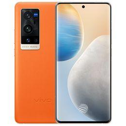 オリジナルvivo x60 Pro + Plus 5G携帯電話12GB RAM 256GB ROM Snapdragon 888 50MP 4200MAH Android 6.56インチAMOLED全画面指紋ID FACE WAKE NFCスマート携帯電話