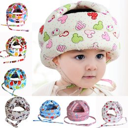 baby helmet hats Australia - Baby Toddler Cap Anti-collision Protective Hat Baby Safety Helmet Soft Comfortable Head Security&Protection Adjustable 1657 Y2