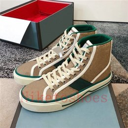 Vintage Sneaker Bordado Impresión Casual Shoe ACE Luxurys Designer Sneakers Italia Tenis 1977 CANVA Skate Shoes Deportes Entrenadores en venta