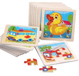 Puzzles Manufacturer customized wooden children cartoon kindergarten early education puzzle cognitive thinking enlightenment small toy on Sale
