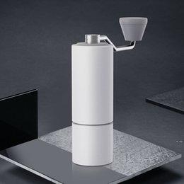 Timemore Atualização Chestnut C2 Alta Qualidade Manual de Alumínio Moedor De Café Inoxidável Burr Burr Moedor Mini Café Fresagem HWA5068 em Promoção