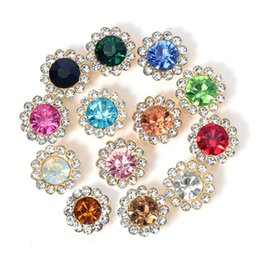 50pcs 10 12mm Rhinestone Bezel Patch Cabochon for Bows Diy Needlewrok Sew on Glass Crystal Beads Hair Accessories Jewelry Making 1514 V2 on Sale