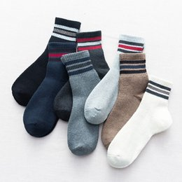 Wholesale hand knit socks for sale - Group buy Thickened Pure Cotton Boneless Sports Men s Hand Knitted Terry Socks Warm Towel Bottom Middle Tube Socks category